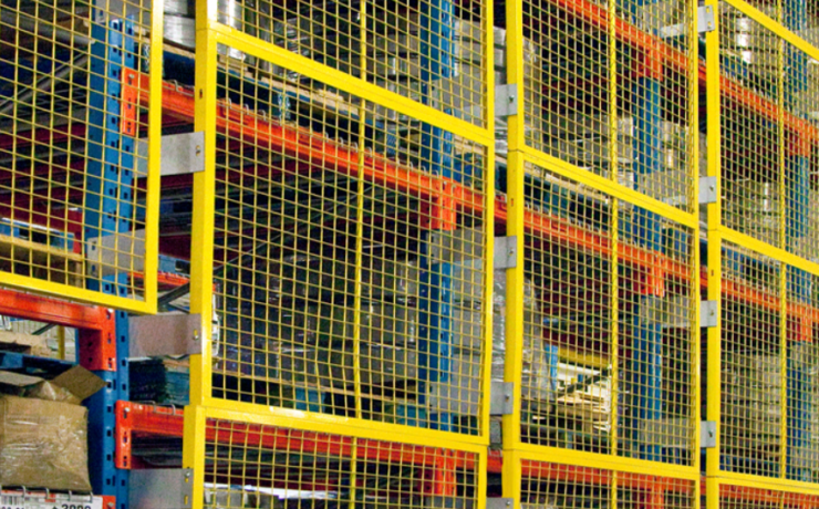 Wire Mesh Rack Back Guards