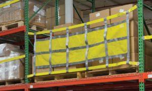 Sliding Safety Netting for Pallet Rack in Dallas TX