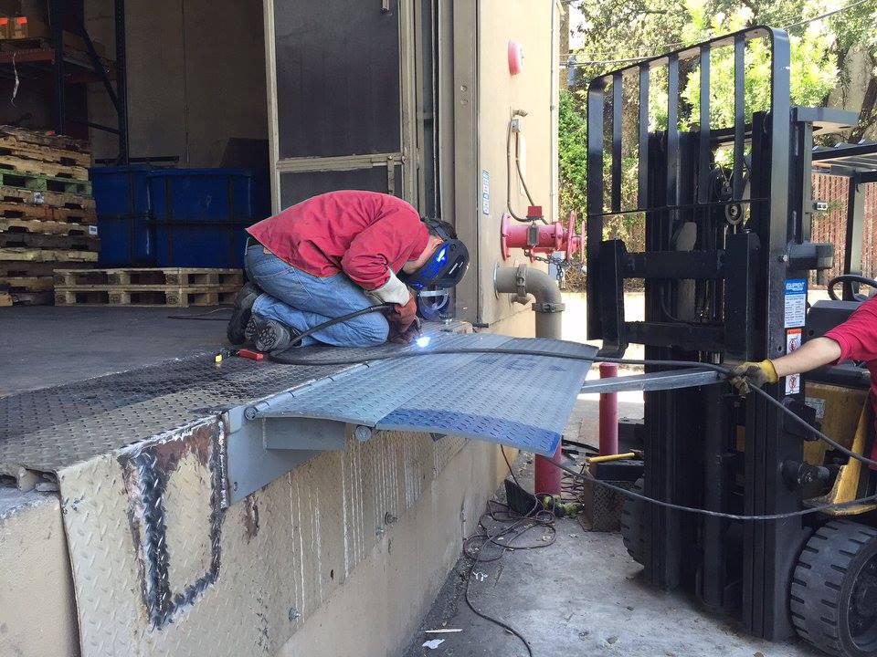 End of Dock Leveler Repair in Dallas TX