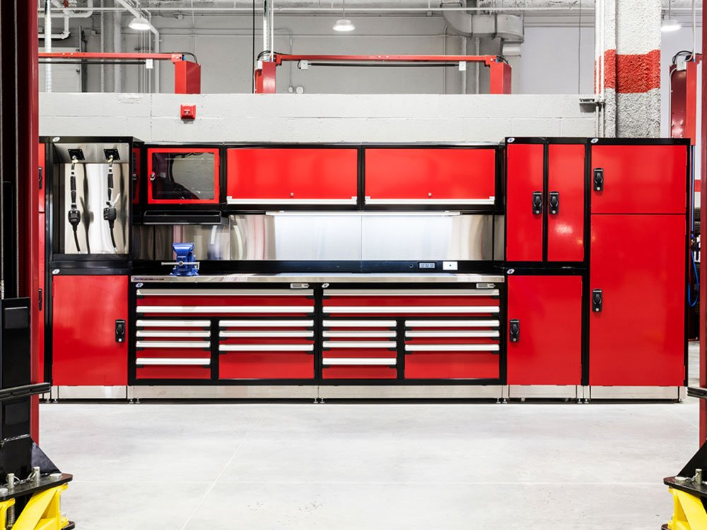 Automotive Storage Solutions and Technician Workstations
