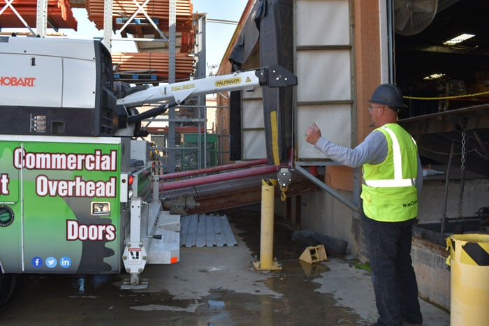 Dock and Door Maintenance and Repair Teams in Dallas TX