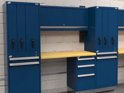 Modular Cabinet System with Vertical Drawers Saves Space